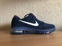 NEW Nike Air Max 2017 Navy Blue Men's Running Shoes US 11