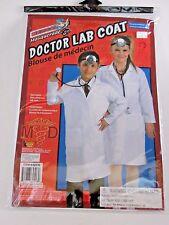 Doctor's Lab Coat Medium/10 Child Costume Halloween Party Birthday Dress up