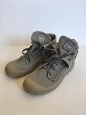 Palladium Boots Women's Size 10 EUR 42 Canvas Desert Tan Beige Gray Waterproof