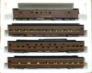 Rivarossi 6959 PRR/Pennsylvania Smooth-Sided Passenger Set B HO-Scale LNIB