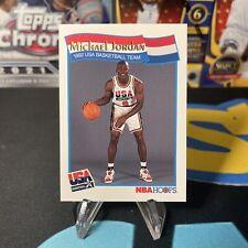 Michael Jordan 1992 NBA HOOPS USA BASKETBALL TEAM OLYMPICS GOLD Card - Mint!
