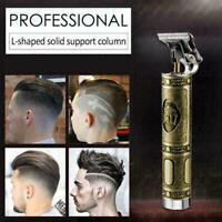 KEMEI Electric Hair Cutting Clipper Shaver Man Beard Ear Set Tool Trimmer T8G5