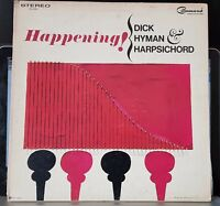 Dick Hyman & Harpsichord - Happening! - whimsical moog gatefold LP