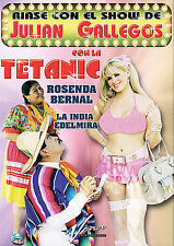 Riase con el Show de Julian Gallegos con La Tetani (DVD, 2008, CD Included)