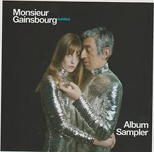 SERGE GAINSBOURG Tribute promo sampler cd