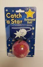 Toysmith Neon Rebound Ball 1-Pack Pink Ball Black Band t5