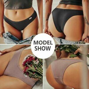 Ladies Thongs G-string Lingerie Cotten Panties Sexy V-string Briefs Panties