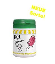 petGelato Eismischung - in der Sorte: HappyApple mit Molke - 44g - Hundeeis