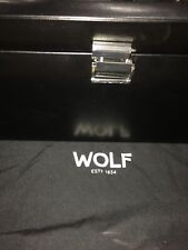 with Cover 270202 Free Us Shipping Wolf 2.1 Heritage Triple Watch Winder