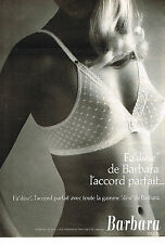 PUBLICITE ADVERTISING 044  1978  FA DIESE  soutien gorge BARBARA