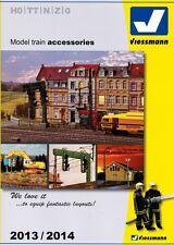 Viessmann Catalogue Model Train Accessories 2013/2014 For H0 tt N Z & 0 -