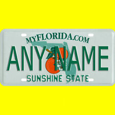 Bicycle license plate - Florida design, new custom personalized, any name