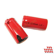 13 Sub C SubC 3400mAh Ni-Mh rechargeable Battery RED