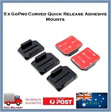 5 X Curved 3M Adhesive Sticky Mount For GoPro Hero 5 / Sessions / 4 / 3 Go Pro