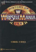 WWE - History Of WrestleMania I - IX , 1985 - 1993, DVD, new & sealed,