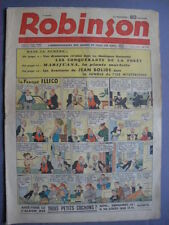 ► ROBINSON N°110 - 1938 - GUY L'ECLAIR - MANDRAKE - JEAN BOLIDE