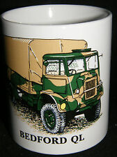 BN Bedford QL Military Vehicle Stoneware Mug Uk Seller Produced in the Uk