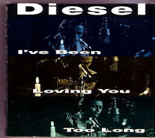 DIESEL I've Been Loving You Too Long Cd w/fold out poster RARE