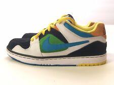 6bfcd93da181 Nike Air Zoom Oncore 6.0 Size 7 White Black Green Blue Yellow - 366630 Shoes