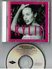 "KYLIE MINOGUE What Kind Of Fool JAPAN 5"" MAXI CD w/PS ALCB-613 No OBI"