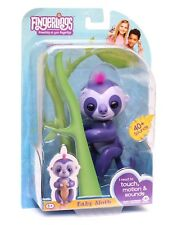 Fingerlings Baby Sloth WowWee Interactive Electronic Pet Toy Talks Moves NEW