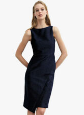 Next Navy Sparkle Pencil Dress