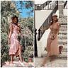 Zara Rustic Linen Dress With Ruffle Trim Size XS/S/M/L/XL - UK 6/8/10/12/14 BNWT