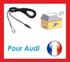 para Cable AUXILIAR MP3 Jack 3.5 Audi A3 TT A4 R8 ipod iPhone Android