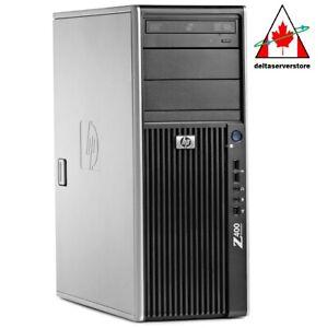 HP Z400 Workstation Tower Intel Xeon 8GB RAM 500GB HDD