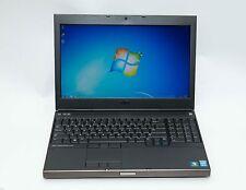 Dell Precision M4800 i7-4800MQ 2.7GHz 8GB 256GB SSD Win 7 NVidia Gaming Laptop