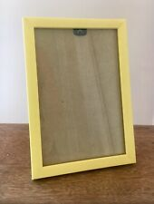 """Picture Frame in Narrow Yellow Finish - To fit Photo size 6"""" x 4"""" Sunny Summer"""