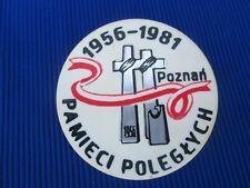 151. ORIGINAL PIN BADGE NSZZ SOLIDARNOSC POLAND - SOLIDARITY
