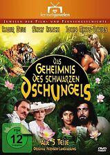 Das Geheimnis des schwarzen Dschungels - Alle 5 Teile KOMPLETT, 2 DVD NEU + OVP!
