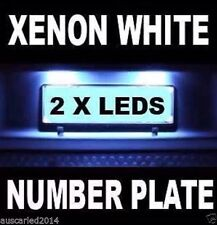 NISSAN Tiida 2012 + Number Plate White LED Kit Light Bulbs