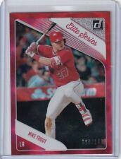 2018 Donruss Elite Series Red Non Auto Mike Trout 068/149 Angels