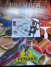 NUOVO Veniard Premium FLY-legare materiale KIT Vice e strumenti per migliaia di mosche