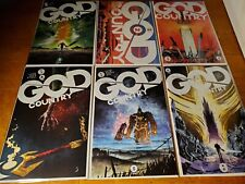 GOD COUNTRY (6) Issue Run #1 2 3 4 5 6 iMAGE 1st print comic set lot VF/NM