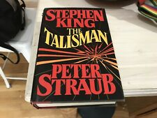 The Talisman Stephen King Peter Straub 1984 Hardcover First Edition 1st Print
