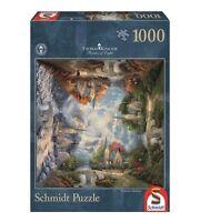 THOMAS KINKADE - DIE KIRCHE IN DEN BERGEN - Schmidt Puzzle 59295 - 1000 Pcs.
