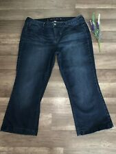 Jenifer Lopez Dark Stretch Denim Jeans Size W35 x L 23