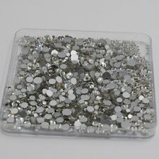 1440pcs Crystal Rhinestones Flat Back Loose Diamante Glass Gems Nail Art Crafts