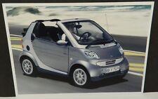 SMART CAR FORTWO DEALERSHIP DEALER PROMO POSTCARD