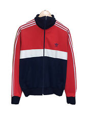 ADIDAS FIRST VENTEX VINTAGE 80s TRACKSUIT TOP TRACK JACKET SURVETEMENT VESTE M