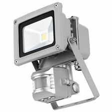 10w=100w LED Outdoor Home Security PIR Motion Movement Sensor Flood Light ~ UK