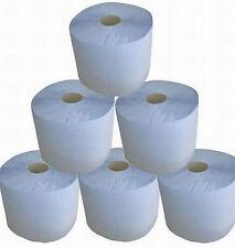 6 Rollen Putzpapier Rolle Putztuch 2 lagig Papier blau