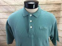 Orvis Polo Shirt Mens Medium Short Sleeve Green