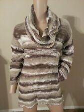 Chelsea & Violet Anthropologie Wool Blend Open Knit Weave Tunic Sweater XS S