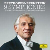 WIENER PHILHARMONIKER-BERNSTEIN-BEETHOVEN: DIE SINFONIEN 6CD+ BLU RAY AUDIO NEW+