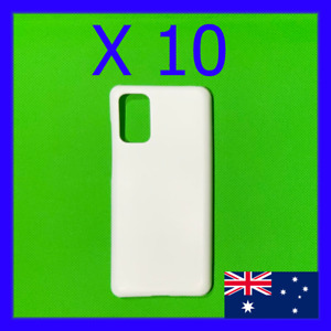 10 x Blank 3D Sublimation Samsung Galaxy Hard Cases / Covers