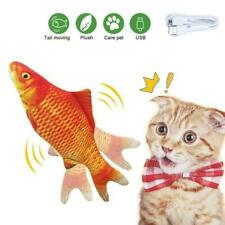 Electronic Pet Cat Toy Electric Simulation Fish USB Charging Toys F4N9